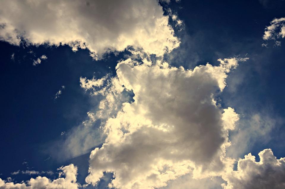 nuvole atmosfera