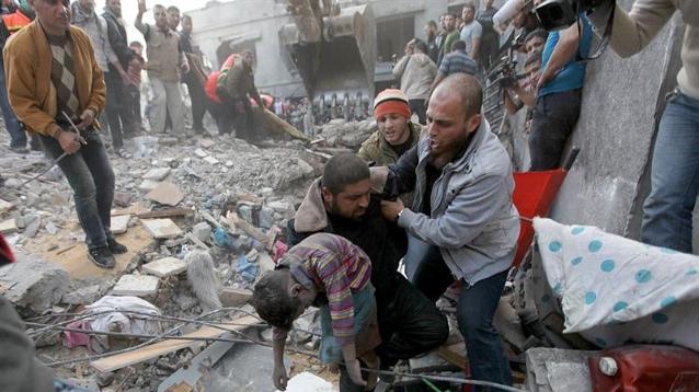 bombardamenti civili siria