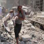 raid in siria (idlib)