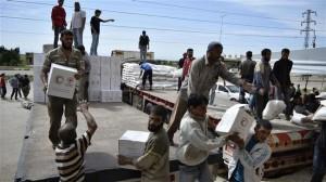 Aleppo aiuti umanitari