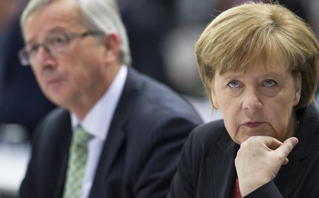 Juncker e Merkel
