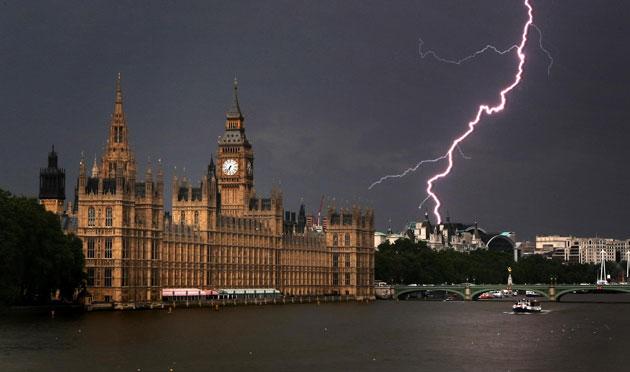 Londra fulmine