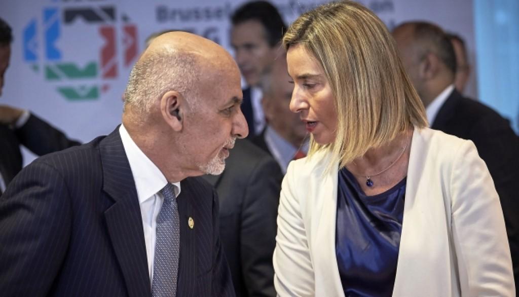 Mogherini Ghani