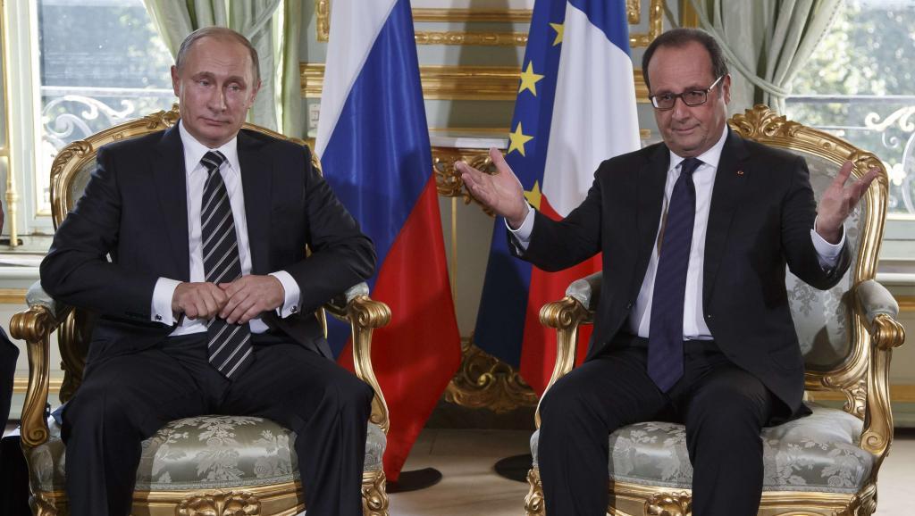 Putin Hollande Siria Russia Francia Berlino Ucraina