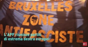 Apf manifestazione antifascisti