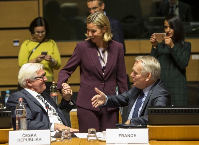 Mogherini Consiglio Esteri