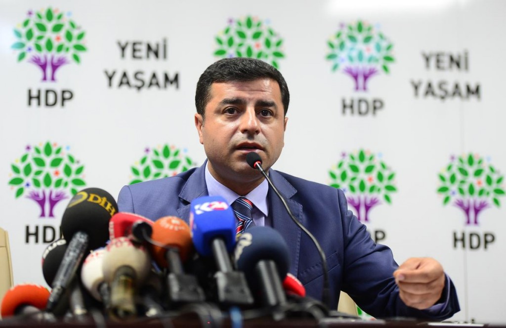 Il leader dell'Hdp Selahattin Demirtaş