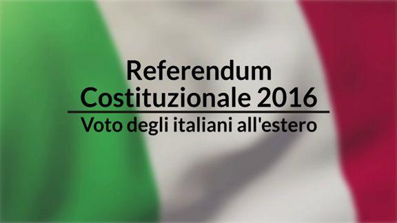 referendum costituzionale italiani estero voto