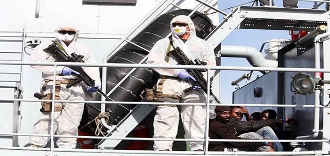 frontex migranti