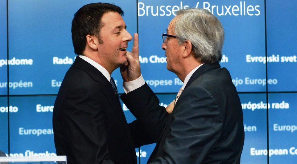 manovra, commissione europea, Renzi, Juncker, scontro