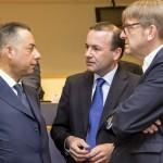 Pittella, Weber e Verhofstadt - © European Union 2015 EP