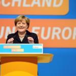 Merkel al congresso Cdu