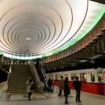 Una stazione della metro di Vasavia