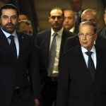 Saad Hariri,Michel Aoun