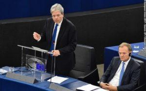 Parlamento europeo, Gentiloni,