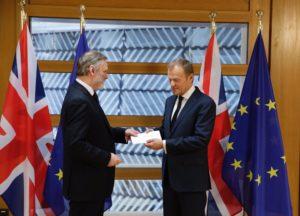 brexit, lettera