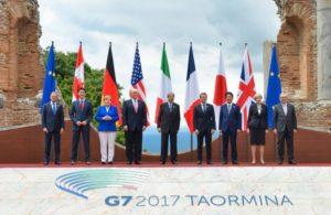 G7, Usa, Trump, Merkel, Ue Brexit