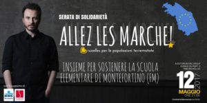 Marche, solidarietà, terremoto, Bruxelles