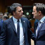Unioni civili, Renzi, Bettel, adozioni