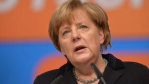 La cancelliera tedesca Angela Merkel (Clima)