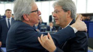 migranti, Italia, Juncker