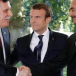 Libia, Macron