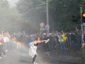 G20 amburgo scontri