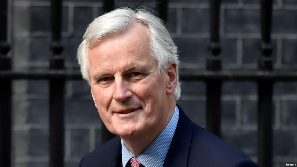 Brexit, Firenze, May, Barnier