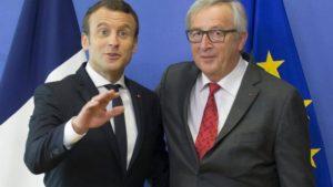 Ue, euro, futuro, Macron, Merkel, Juncker