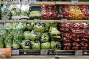 plastica, verdure, buste, sacchetti, tasse