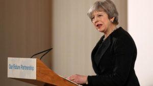 Brexit discorso May Londra