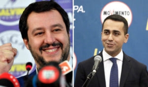italia, governo maggioranza